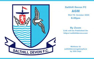 Salthill Devon AGM