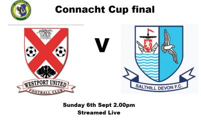 Connacht Cup Final – Streamed Live